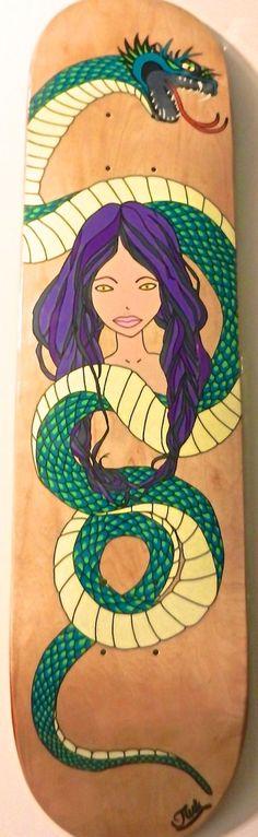 JinK Snake Girl board