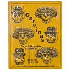 CATRINAS DAY OF THE DEAD MOLD
