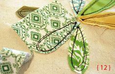 Rebecca Sower detailed tutorial on free-motion flower stitch