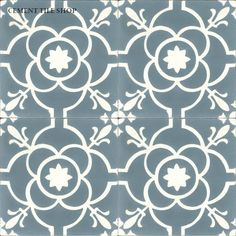 Cement Tile Shop - Encaustic Cement Tile | Paris Blue
