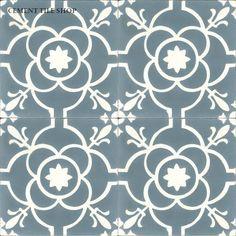 Cement Tile Shop - Encaustic Cement Tile | Paris Blue
