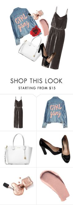 """""""😏"""" by lilo163 ❤ liked on Polyvore featuring Madewell, High Heels Suicide, Michael Kors, Miu Miu and Burberry"""