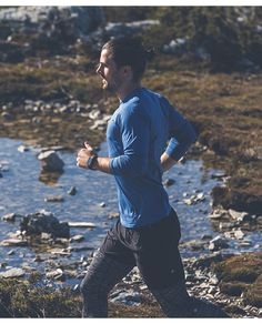 Run. Run on tracks, and in nature, run through water, and over hills. Just run.