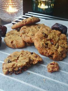 Ruokakonttuuri: Taatelikeksit || Date Cookies