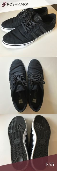 uomini è adidas seeley canapa basso alto scarpa 9 1 / 2 le adidas