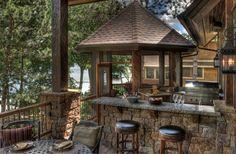 Gull Lake Deck/Gazebo - traditional - patio - minneapolis - Lands End Development - Designers & Builders
