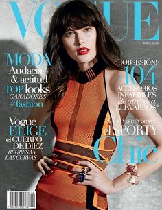Catherine McNeil Looks Like a Wax Figure on Vogue Mexico's April Cover (Forum Buzz)