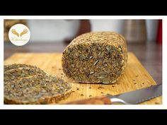 Φάτε υγιεινό ψωμί, χωρίς κόκκους, χωρίς αλεύρι, χωρίς νιφάδες βρώμης! χαμηλών υδατανθράκων - YouTube Lactose Free Recipes, Vegan Gluten Free, Healthy Recipes, Gluten Intolerance, Bread Recipes, Baked Goods, Low Carb, Brunch, Healthy Eating