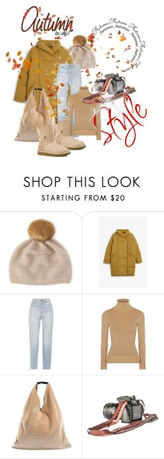 """""""Autumn Beautiful"""" by su-ka74 ❤ liked on Polyvore featuring Henri Bendel, Monki, Yves Saint Laurent, JoosTricot, MM6 Maison Margiela and UGG"""