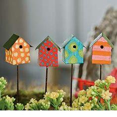 Fairy Garden Miniature Birdhouse