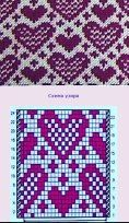 (93) Одноклассники Slip Stitch Knitting, Loom Knitting Stitches, Knitting Machine Patterns, Fair Isle Knitting Patterns, Bead Loom Patterns, Knitting Charts, Knit Patterns, Cross Stitch Patterns, Motif Fair Isle