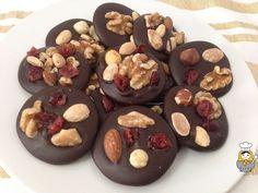 Mendiants o músicos de chocolate: receta ultrafácil de Navidad - Vuelta y Vuelta
