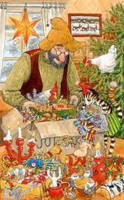 Kuvahaun tulos haulle pettson och findus jul