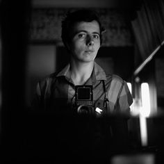 Vivian Maier - Self portrait with rolleiflex camera