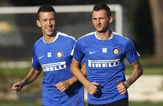 Ivan Perisic and Marcelo Brozovic