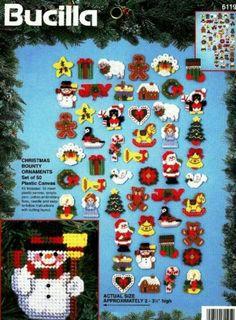 Christmas Bounty Ornaments 4/4