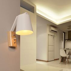 Cheap led wall light, Buy Quality bedside reading light directly from China wall light e27 Suppliers: Nordic Wood Wall Lamps Bedroom Bedside Reading Light Modern LED Wall Lights E27 AC110-240V With Switch on Lamp Indoor Lighting