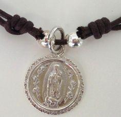 Regalos 1ª Comunión - Colgante Virgen de Guadalupe www.bbthecountrybaby.com