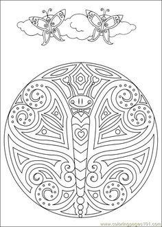 Mandalas 041 Coloring Page