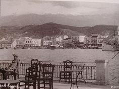 παλιά Πάτρα. vintage Patras, Greece Old Photos, Vintage Photos, Paris Skyline, Greece, The Past, Black And White, History, City, World