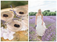 A gorgeously styled wedding session in Mayfield Lavender Fields, London Nature - Photography - Love - Engagement - Purple - Lilac -Blue - Pastel - Light - Airy - Unique - Timeless - Forever - Couple - Film - Green - Dress - Rings - Decor - Candids