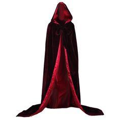 AngelWardrobe Halloween Hooded Cloak MEDIEVAL Various Colors Wedding... ($49) ❤ liked on Polyvore featuring cloak