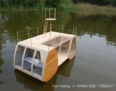 Free Floating Catamaran Suite : Enjoying Nature Is More Fun From This Mini Eco-Lodge