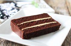 torta al cioccolato con crema al caffè