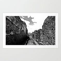 The shadow of Vesuvius Art Print Promoters - $14.56