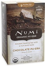 Another one of my favorite teas: Numi Pur erh Chocolate Tea