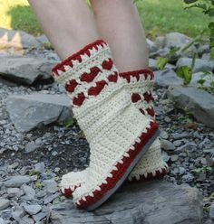 I am so proud to finally be able to offer you my published pattern! This boot pattern was published in I Like Crochet Magazine in February 2015. The six month contractual waiting period has come to an end and I can now offer this pattern in my shop. Here is the link to the website where the boots are published. They have lots of great patterns! Check them out! http://www.ilikecrochet.com/ Crochet Street HEART BOOTS…