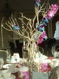 love the concept of tree limbs as centerpieces with fancy accents.the best part is the hunt in the yard or woods for the perfect ones. Manzanita Centerpiece, Centerpieces, Table Decorations, Log Stools, Bridal Flowers, Something Beautiful, Event Decor, Special Day, To My Daughter