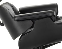 vitra eames lounge chair  new black edition