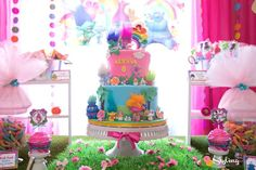 Trolls Birthday Party Ideas | Photo 4 of 38 | Catch My Party
