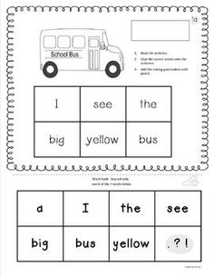 1000 images about preschool sentence building on pinterest sentence building sentences and. Black Bedroom Furniture Sets. Home Design Ideas