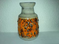 Vase Carstens WGP Mid Century 60s 70s Keramik 5009-20 *