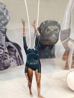 Eva Kotatkova - at exhibition at Oxford MOMA