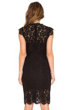 Suzette Lace Mini Dress in Black Lace Midi Dress, Crepe Dress, Dress Skirt, Bodycon Dress, Midi Dresses, Lace Dress Styles, Rachel Zoe, Little Dresses, Revolve Clothing