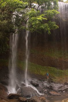 Tallest waterfall in the country of Palau