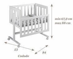 Baby Bedroom, Baby Boy Rooms, Baby Room Decor, Kids Bed Design, Baby Room Design, Baby Bassinet, Baby Cribs, Baby Side Bed, Bedside Crib