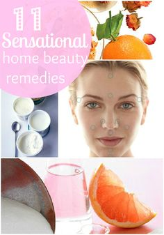 These 11 home beauty solutions will leave you feeling pretty and rejuvenated, from the top of your head to the tips of your toes!