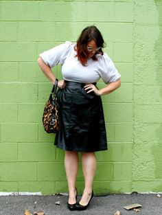 In Kinsey's Closet | Date night leather