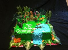"Katy Perry ""Roar"" cake 