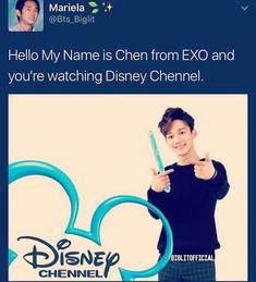 #kpop #Memes  #kpopmemes #exo #chen #cute #funny #hilarious #relatable #disney