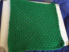 "12"" in kelly green for Chernobyl blanket"