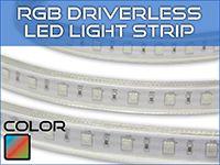 Ultra Bright RGB Driverless Strip