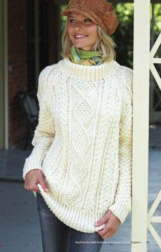9525f8ee9 Dagmar sweater pattern by Handy Kitty