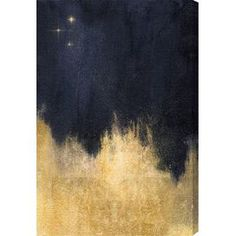 Stars in the Night Canvas Print, Oliver Gal