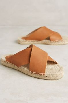 Soludos Criss Cross Sandals - anthropologie.com