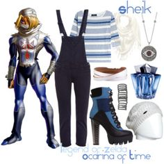 Sheik - Legend of Zelda: Ocarina of Time casual cosplay